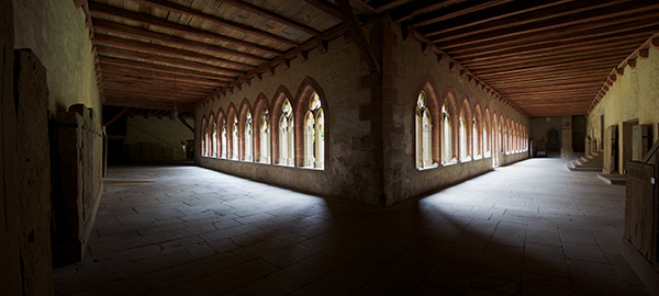 Bad Wimpfen Cloister panorama